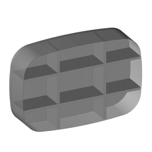 Kaseton metalowy