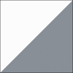 Alpine white / RAL 7001 Grey